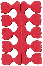 Parfums et Produits cosmétiques Séparateurs d'orteils, rouge - Peggy Sage