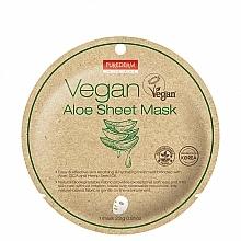 Parfums et Produits cosmétiques Masque tissu à l'aloe vera pour visage - Purederm Vegan Sheet Mask Aloe
