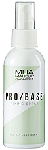Parfums et Produits cosmétiques Spray fixateur de maquillage - MUA Pro Base Fixing Spray