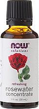 Parfums et Produits cosmétiques Concentré d'eau de rose - Now Foods Solutions Rosewater Concentrate