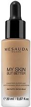 Parfums et Produits cosmétiques Fond de teint liquide, effet invisible et naturel - Mesauda Milano My Skin But Better