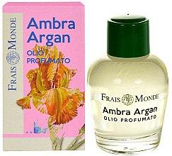 Parfums et Produits cosmétiques Huile parfumée à l'argan et ambre - Frais Monde Ambra Argan Perfume Oil