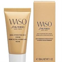Parfums et Produits cosmétiques Crème à l'extrait de soja fermenté pour visage, tube - Shiseido Waso Giga-Hydrating Rich Cream