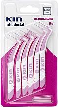 Parfums et Produits cosmétiques Brossettes interdentaires 0,6 mm - Kin Ultramicro ISO 0