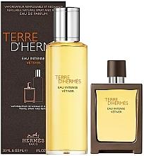 Parfums et Produits cosmétiques Hermes Terre D'Hermes Eau Intense Vetiver - Coffret (eau de parfum/30ml + eau de parfum/125ml)