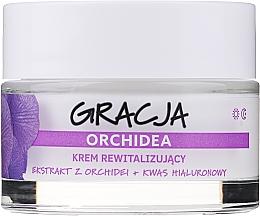 Parfums et Produits cosmétiques Crème à l'extrait d'orchidée et acide hyaluronique pour visage - Gracja Orchid Revitalizing Anti-Wrinkle Day/Night Cream