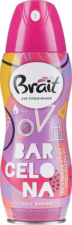 Désodorisant aérosol City Break -Barcelona - Brait Dry Air