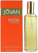 Parfums et Produits cosmétiques Musk Jovan - Cologne concentré en vaporisateur
