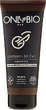 Parfums et Produits cosmétiques Shampooing régénérateur et gel douche 2-en-1 pour homme - Only Bio Regenerating Shampoo