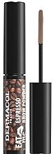 Parfums et Produits cosmétiques Poudre pour sourcils - Dermacol Eat Me Espresso Eyebrow Powder