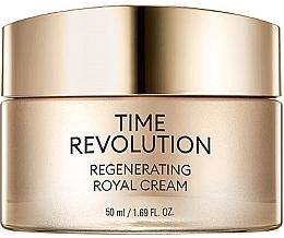 Parfums et Produits cosmétiques Crème au peptide royal pour visage - Missha Time Revolution Regenerating Royal Cream