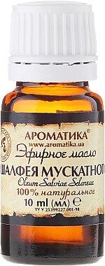 Huile essentielle de sauge 100% naturelle - Aromatika — Photo N2
