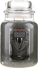 Parfums et Produits cosmétiques Bougie parfumée en jarre - Country Candle Grey