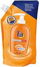 Parfums et Produits cosmétiques Savon liquide à l'arôme d'orange - Fa Hygiene & Freshness Orange Scent Soap (recharge)