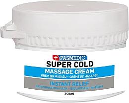Parfums et Produits cosmétiques Crème de massage rafraîchissante pour corps - Pasmedic Super Cold Massage Cream