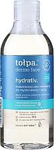 Parfums et Produits cosmétiques Eau micellaire hypoallergénique - Tolpa Dermo Face Hydrativ Face And Eye Micellar Fluid