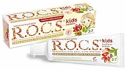 Parfums et Produits cosmétiques Dentifrice, Baies - R.O.C.S. Kids Barberry Toothpaste