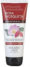 Parfums et Produits cosmétiques Gommage à la rose musquée pour corps - Voland Nature Rose Hip Body Scrub