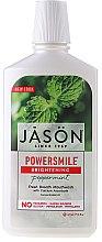 Parfums et Produits cosmétiques Bain de bouche blanchissant à la menthe poivrée - Jason Natural Cosmetics Power Smile