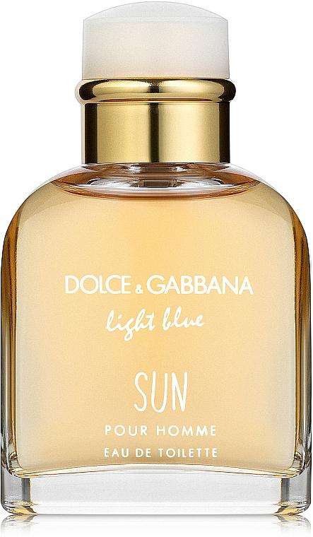 Dolce & Gabbana Light Blue Sun Pour Homme - Eau de Toilette pour Homme