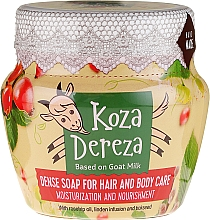 Parfums et Produits cosmétiques Savon épais hydratant pour cheveux et corps - Fitokosmetik Koza Dereza
