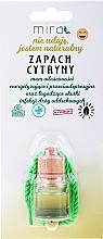Parfums et Produits cosmétiques Désodorisant pour voiture Citron - Mira