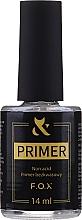 Parfums et Produits cosmétiques Base sans acide pour vernis à ongles - F.O.X UltraBond Non-Acid