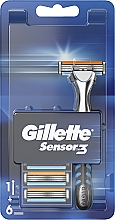 Parfums et Produits cosmétiques Rasoir avec 6 lames de rechange - Gillette Sensor 3