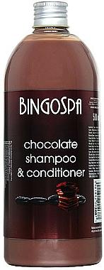 Shampooing et après-shampooing au chocolat - BingoSpa Chocolate Shampoo-Conditioner