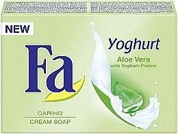 Parfums et Produits cosmétiques Savon crème au yogourt et aloe vera - Fa Yoghurt Aloe Vera Cream Soap