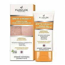 Parfums et Produits cosmétiques Crème au beurre de karité pour mains - Floslek White & Beauty Anti-Aging Hand Cream