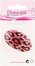 Parfums et Produits cosmétiques Élastique à cheveux, 5375, rose avec imprimé léopard - Donegal