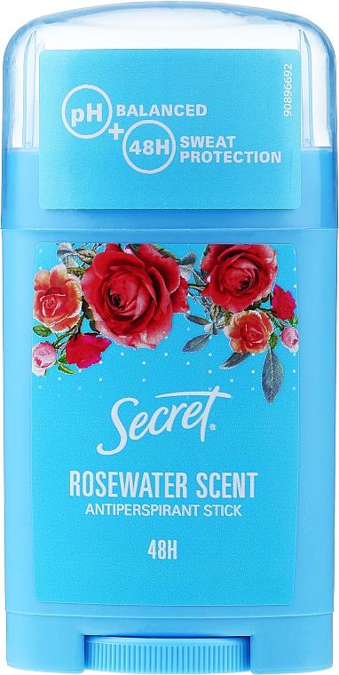 Déodorant stick - Secret Antiperspirant Stick Rosewater scent