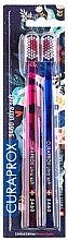 Parfums et Produits cosmétiques Duo brosses à dents extra doux, CS 5460, rose + bleu - Curaprox Ultra Soft Duo Love Edition