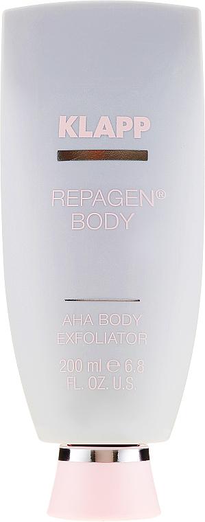Exfoliant à l'acide glycolique pour corps - Klapp Repagen Body AHA Body Exfoliator — Photo N2