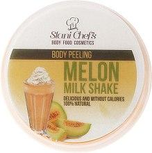 Parfums et Produits cosmétiques Gommage corporel naturel à base de sel marin et cocktail de melon - Stani Chef's Melon Milk Shake Body Peeling