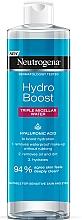 Parfums et Produits cosmétiques Eau micellaire à l'acide hyaluronique - Neutrogena Hydro Boost Triple Micellar Water