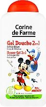 Parfums et Produits cosmétiques Gel douche pour corps et cheveux, Mickey Mouse - Corine De Farme Mickey