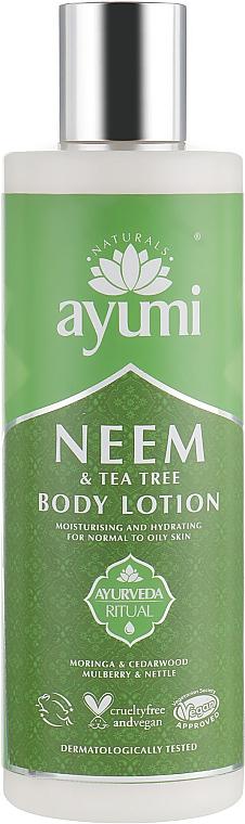 Lotion au neem pour corps - Ayumi Neem & Tea Tree Body Lotion — Photo N1