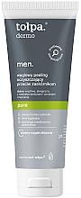Parfums et Produits cosmétiques Gel exfoliant au charbon actif pour visage - Tolpa Dermo Men