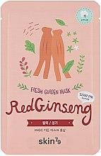 Parfums et Produits cosmétiques Masque tissu au ginseng rouge pour visage - Skin79 Fresh Garden Red Ginseng Mask