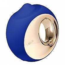 Parfums et Produits cosmétiques Stimulateur clitoridien, bleu - Lelo Ora 3 Midnight Blue