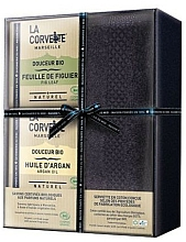 Parfums et Produits cosmétiques Coffret cadeau - La Corvette Douceur Bio Gift Box (soap/2x100g + towel/1pcs)