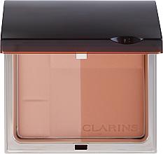 Parfums et Produits cosmétiques Poudre bronzante compacte SPF 15 pour visage - Clarins Bronzing Duo Mineral Powder Compact SPF 15