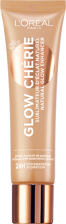 Fluide sublimateur d'éclat naturel pour visage - L'Oreal Paris Glow Cherie