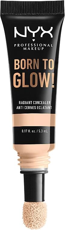 Correcteur éclaircissant en cushion pour visage - NYX Professional Makeup Born To Glow Radiant Concealer