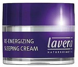 Crème de nuit aux huiles d'olive et amande douce - Lavera Re-Energizing Sleeping Cream — Photo N1