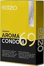 Parfums et Produits cosmétiques Préservatifs, 3pcs - Egzo
