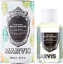 Parfums et Produits cosmétiques Bain de bouche à la menthe - Marvis Concentrate Strong Mint Mouthwash