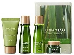 Parfums et Produits cosmétiques The Saem Urban Eco Harakeke Travel 4 Kit - Set (mousse/25ml+lotion tonique /31ml+émulssion /31ml+crème/8ml)